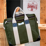 The $52 American-made, Canvas Briefcase by Beckel Canvas