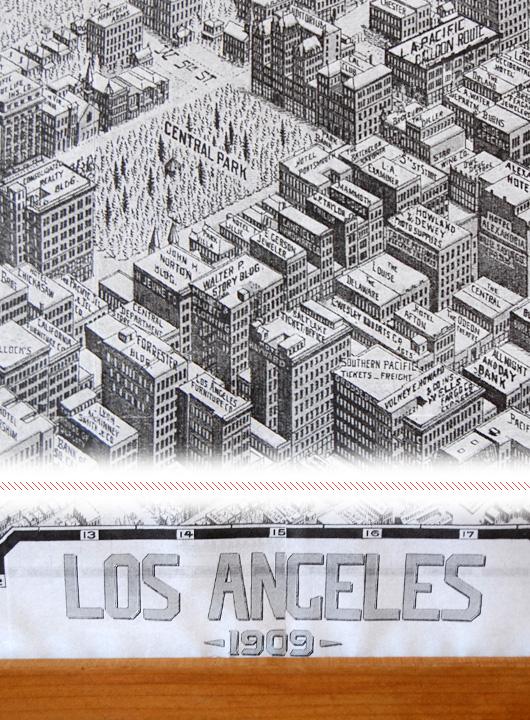 Make This Giant Map Frame For Only Primer - Oversized vintage maps