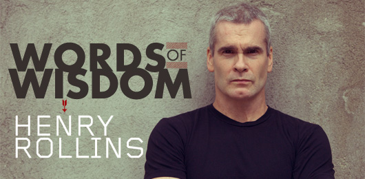 Words of Wisdom: Henry Rollins Talks to Primer