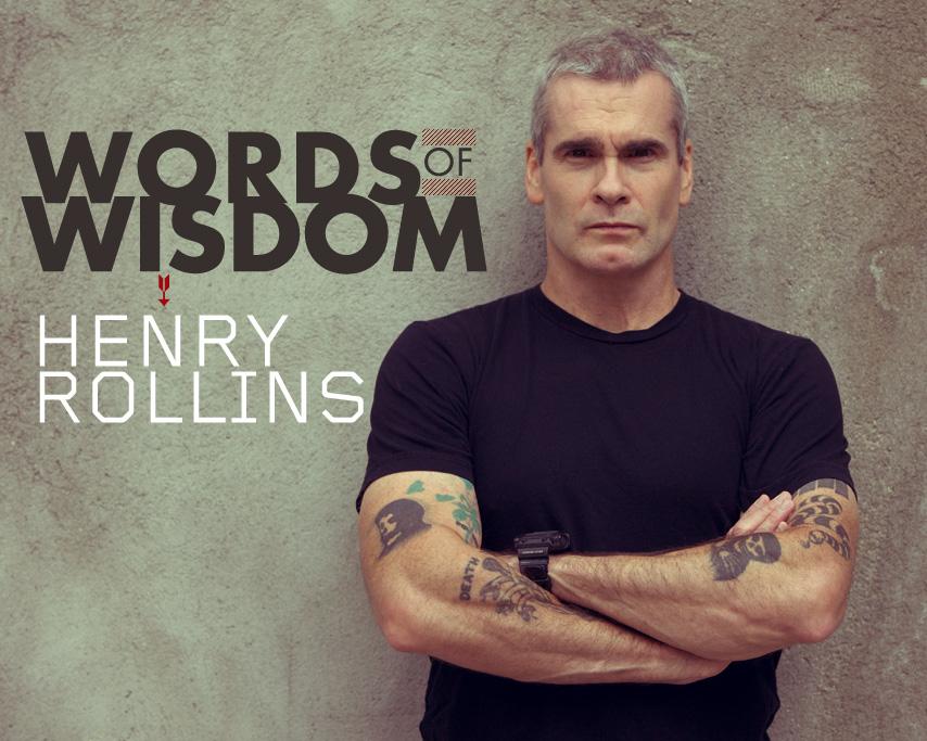 Words of Wisdom: Henry Rollins Talks to Primer