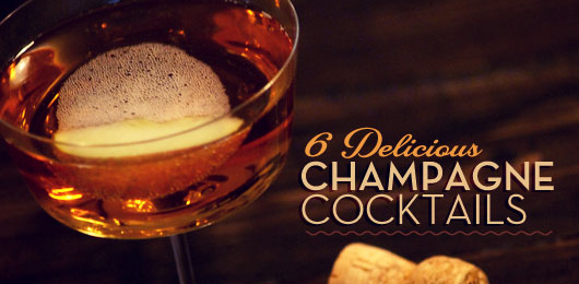 6 Delicious Champagne Cocktails