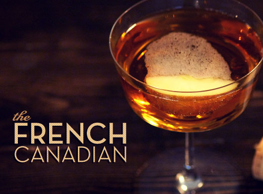 French Canadian cocktail