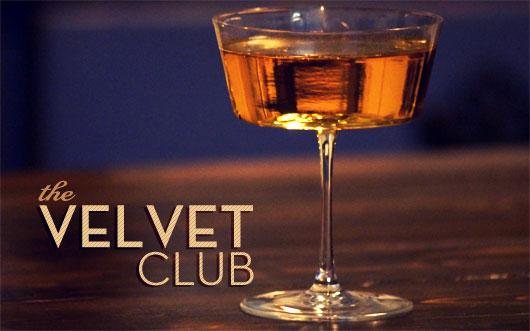 Velvet club cocktail