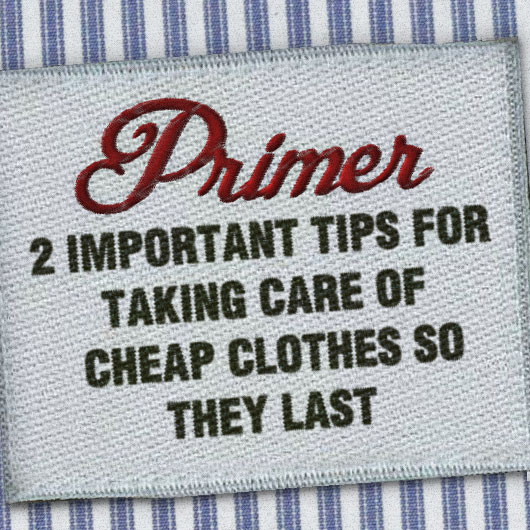 2 Important Tips for Taking Care of Cheap Clothes So They Last