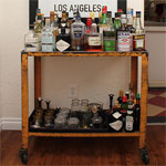 The Intentional Apartment: Assembling the Perfect Bar Cart