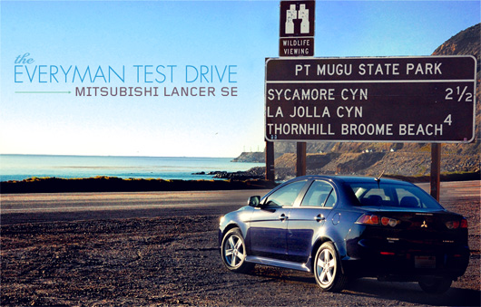 The Everyman Test Drive: 2013 Mitsubishi Lancer SE