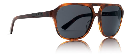 A close up of sunglasses by Raen