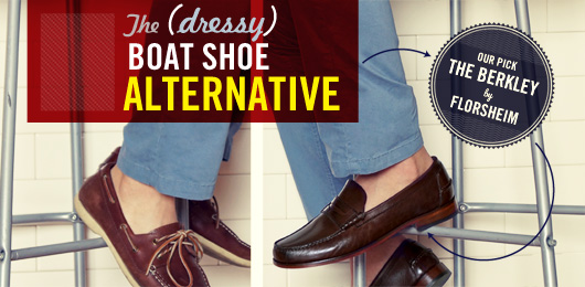 The Loafer: The (Dressy) Alternative to the Boat Shoe