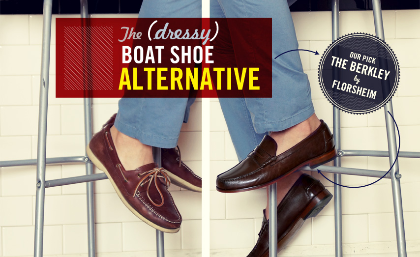The dressy boat shoe alternative with loafers