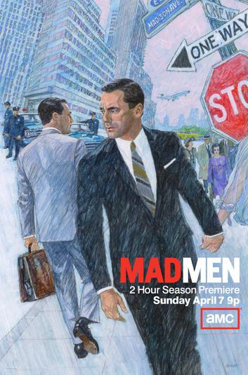Finished Mad Men art