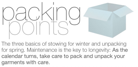Packing Points: The 3 Basics of Packing for Winter and Unpacking for Spring