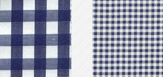 big vs small patterns for short men