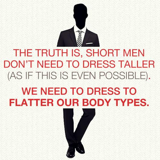 Short Men Style tip