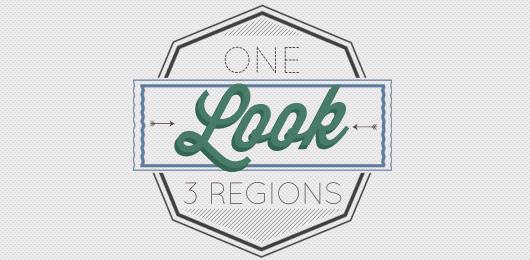 1 Look 3 Regions: Spring Casual