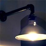 DIY industrial barn light