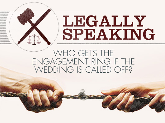 Legally Speaking: Who Gets the Engagement Ring if the Wedding is Called Off?