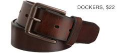 Brown dockers belt