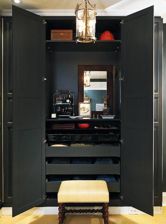 A large open closet