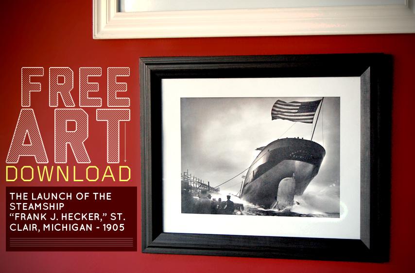 Free Art Download Frank J Hecker