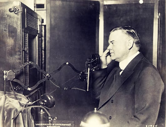 Then Secretary of State Hoover
