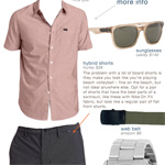 The Getup: All-purpose Beach Day