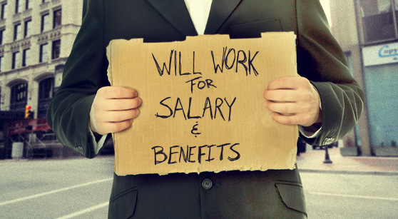 Will for salary and benefits sign