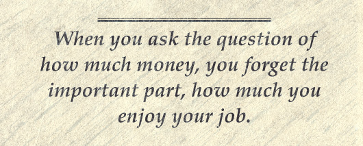 Article Quote Inset - How much do you enjoy your job