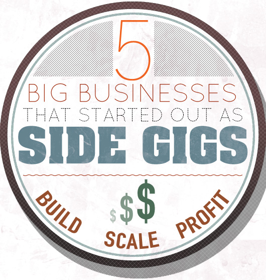 5 Big Businesses that Started as Side Gigs