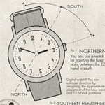 Spy School: How to Use an Analog Watch as a Compass to Find Direction