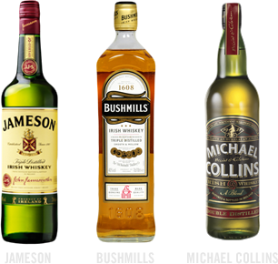 common irish whiskies