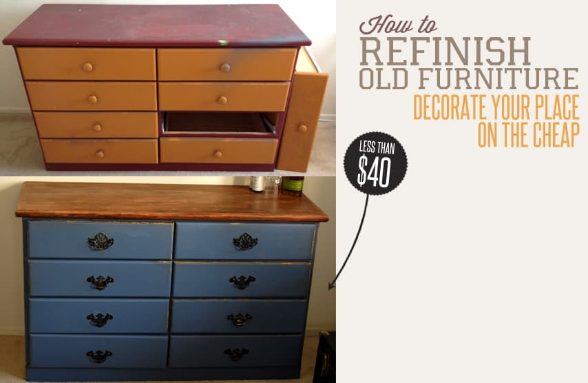 Add Wood And Other Simple Upgrades For Cheap Furniture