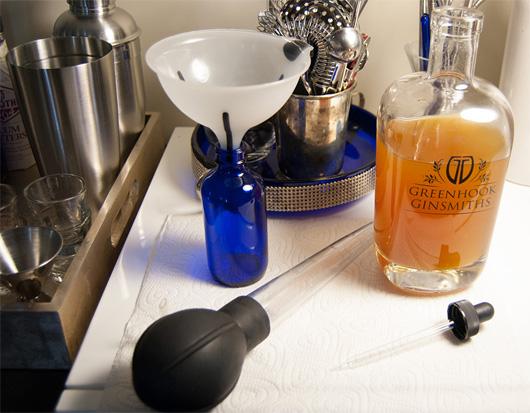 Bottling homemade bitters