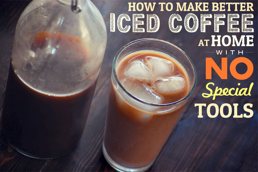 How To Make Iced Coffee Recipe — Dishmaps