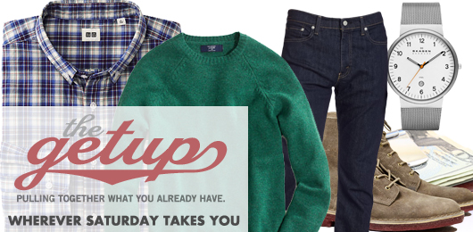 The Getup: Wherever Saturday Takes You