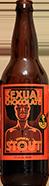 Sexual chocolate bottle