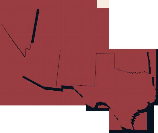 Southwest map region