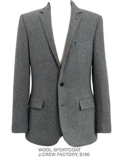 Gray sportcoat