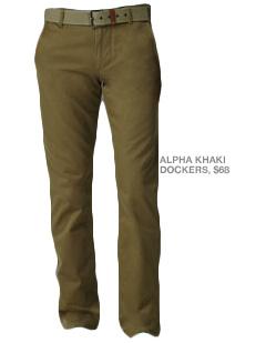 Alpha Khaki Dockers