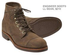 Brown LLBean boots