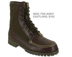 Brown eastland boots