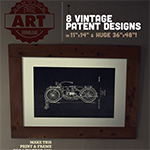 Free Art Download: 8 Vintage Patent Designs