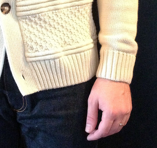 chunky sweater sleeve length