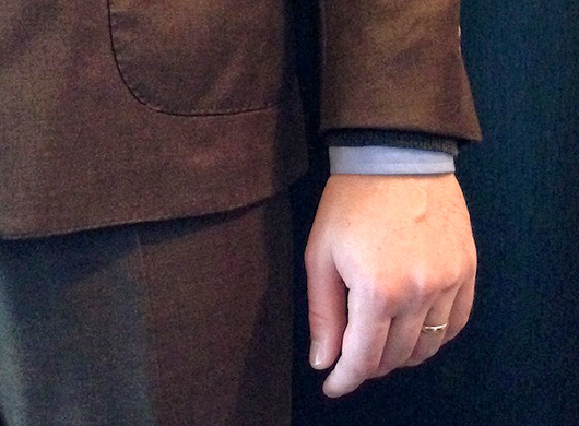 Suit, sweater, and shirt length guide