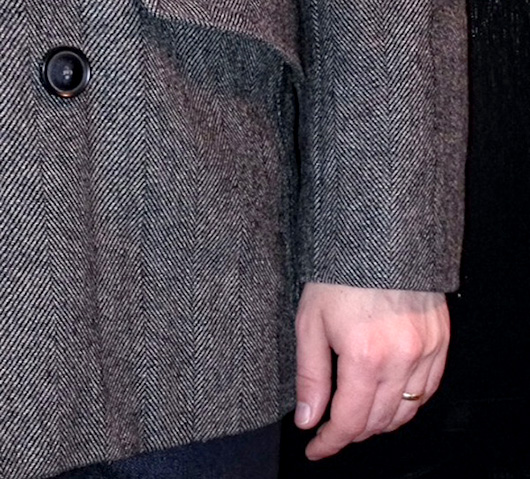 Proper overcoat sleeve length