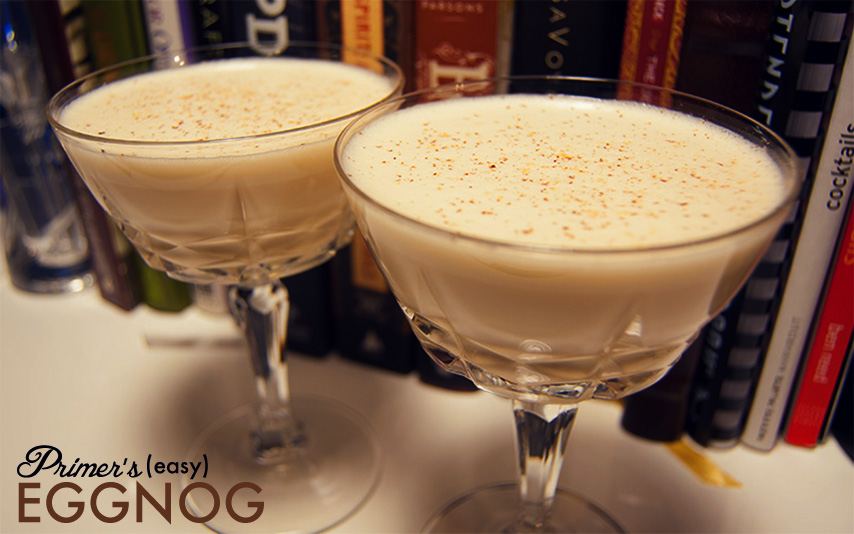 easy egg nog recipe