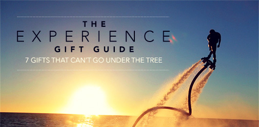 The Experience Gift Guide: 7 Gifts That Can't Go Under The Tree
