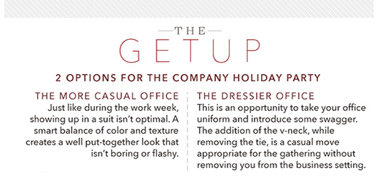 The Getup: 2 Options for The Company Holiday Party