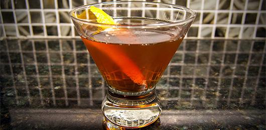 The Le Mot D'or Cocktail Recipe: An Earthy Bourbon Cocktail