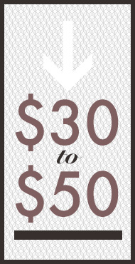 gifts $30 to $50
