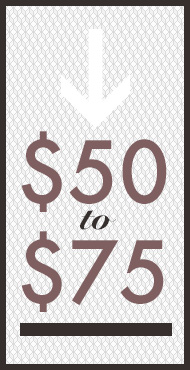 gifts $50 to $75